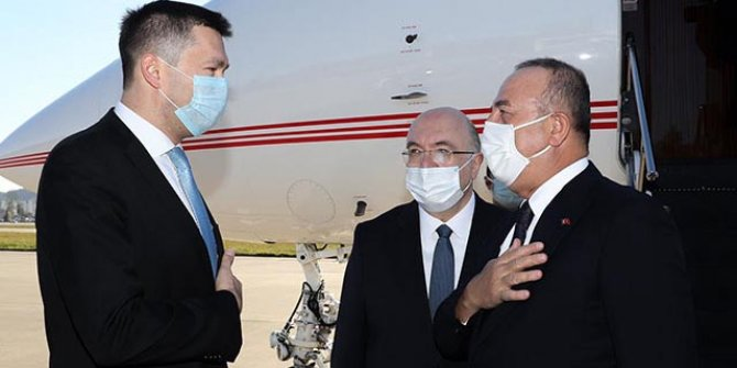 Dışişleri Bakanı Mevlüt Çavuşoğlu Rusya'da