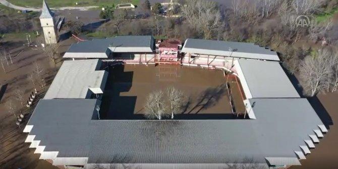 Kırkpınar Er Meydanı sular altında kaldı