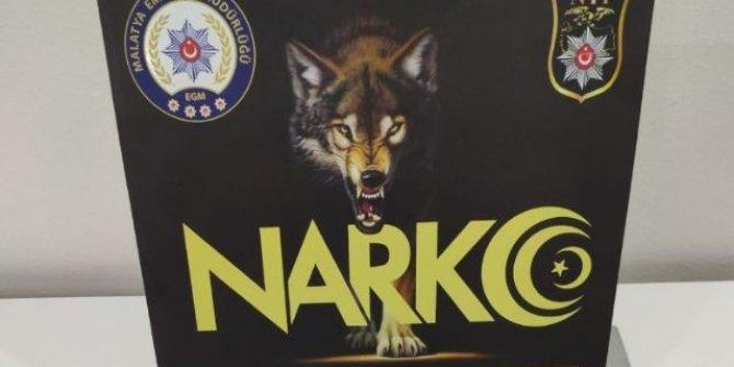 Malatya'da uyuşturucu tacirlerine operasyon