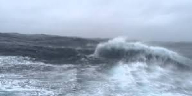 Meteoroloji uyardı EDA Fırtınası geliyor.Aman dikkat dalgalar birbirini dövecek