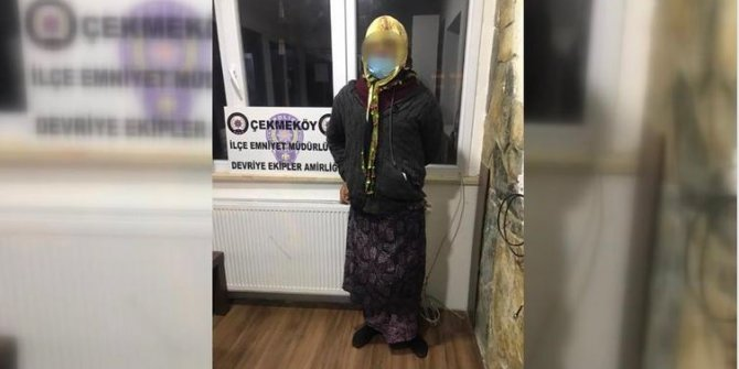 Şeytani kaçış planını polis bozdu. Başörtülü fistanlı kadın maskesini indirince polis şaşkına döndü