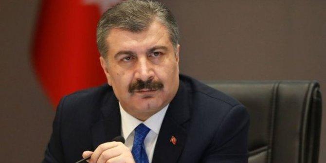 Sağlık Bakanı Fahrettin Koca'dan İYİ Parti Genel Başkanı Meral Akşener'e teşekkür