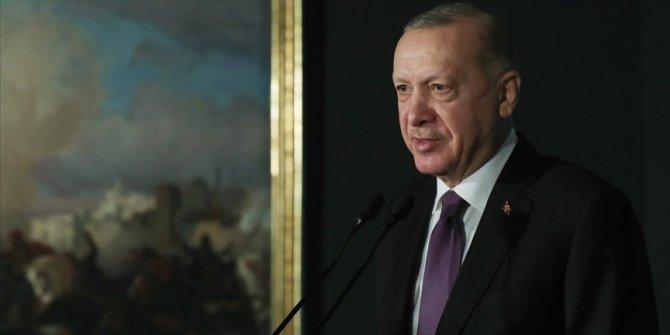 Erdoğan Resim ve Heykel Müzesi açılışında konuştu
