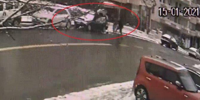 Yeniçağ Yazarı Orhan Uğuroğlu'na hain saldırının görüntüleri ortaya çıktı. Böyle pusu kurmuşlar