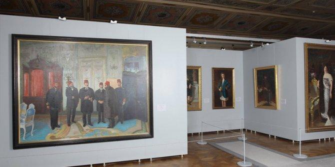 Milli Saraylar Resim Müzesi sanatseverlerin ziyaretine açıldı