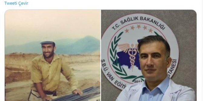Kardiyolog Gürkan İmre'nin başarı hikayesi. 20 sene önce inşaat işçisi 20 sene sonra ise uzman doktor