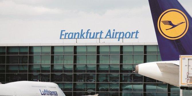 Frankfurt Havalimanı'nda alarm verildi