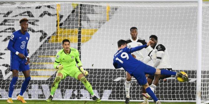 Chelsea yine zorlandı ama Fulham'a karşı güldü