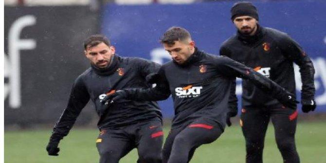 Galatasaray'da Beşiktaş derbisi hazırlıkları bitti