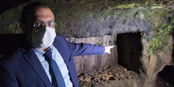 Mersin'de Tarihi kaya mezarlar ortaya çıktı