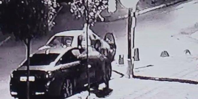 Güngören'de sakar hırsızlar saniyeler içinde her şeyi çaldılar