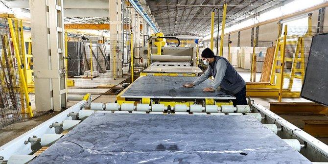 Türkiye'nin işlenmiş doğal taş ihracatı arttı