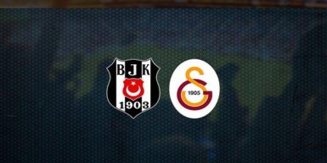 Beşiktaş Galatasaray maçı canlı anlatım