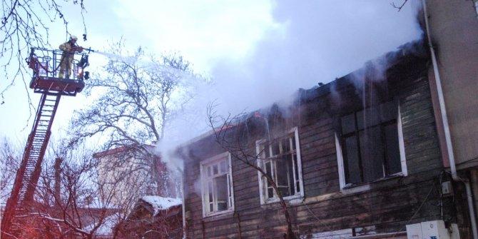 İstanbul'da elektrik sobası yangın çıkardı