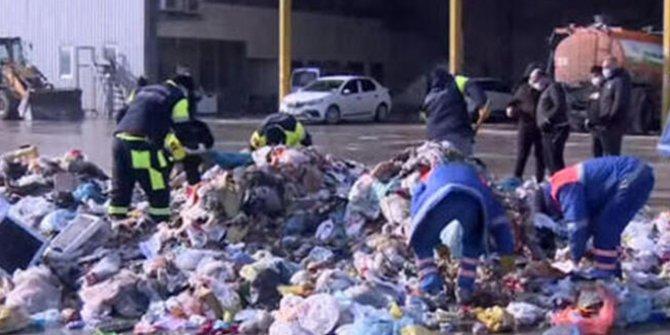 İstanbul'da bir  belediye harekete geçti. Özel ekip kuruldu çöpte didik didik arıyorlar