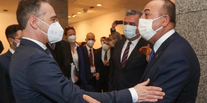 Almanya Dışişleri Bakanı Maas Türkiye'de