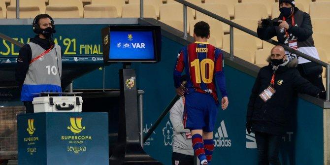 Lionel Messi tarihe geçti Barcelona kariyerinde bir ilk