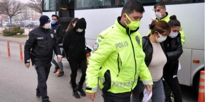 Karaman'da uyuşturucu çetesini 550 polis çökertti. Şebeke lideri kadından şok taktik
