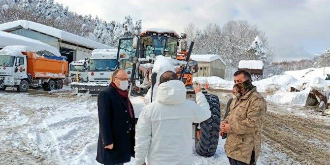 Zonguldak'ta 126 köy yolu ulaşıma kapandı
