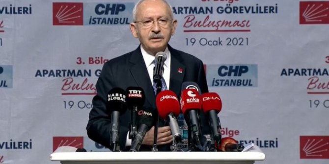 Kemal Kılıçdaroğlu'ndan apartman görevlilerine örgütlenin çağrısı