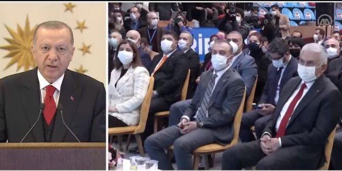 Erdoğan'dan fedakarlık mesajı