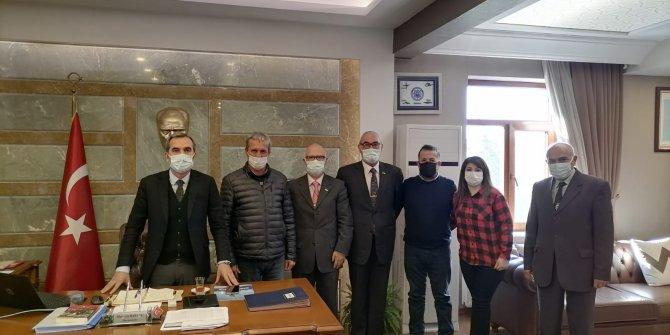 İYİ Parti Urla'dan Kaymakam Dayanç'a ziyaret