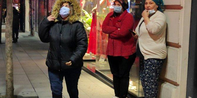İstanbul Şişli'de gece yarısı yangın
