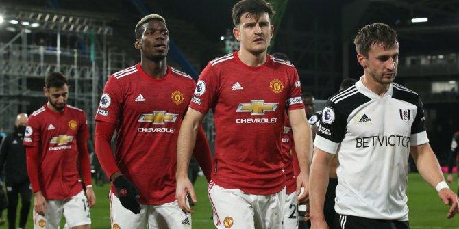 Premier Lig'de Manchester United'in bileği bükülmüyor