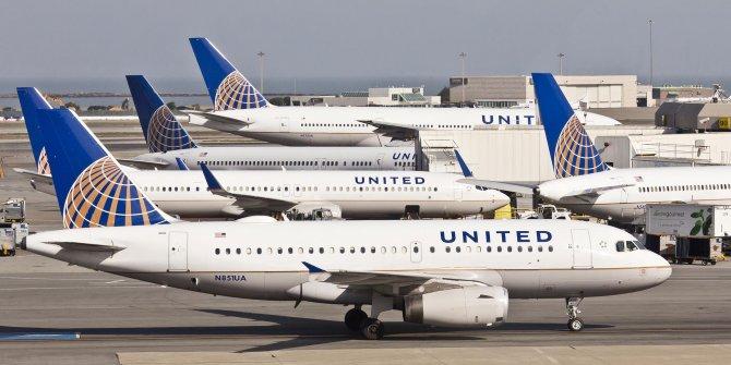 United Airlines'ın zararı hayrete düşürdü