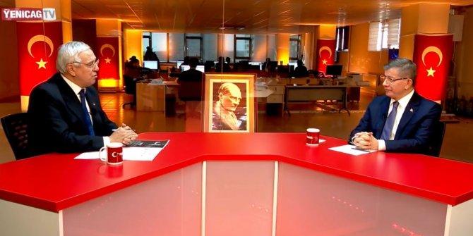 Ahmet Davutoğlu Yeniçağ TV'de canlı yayında