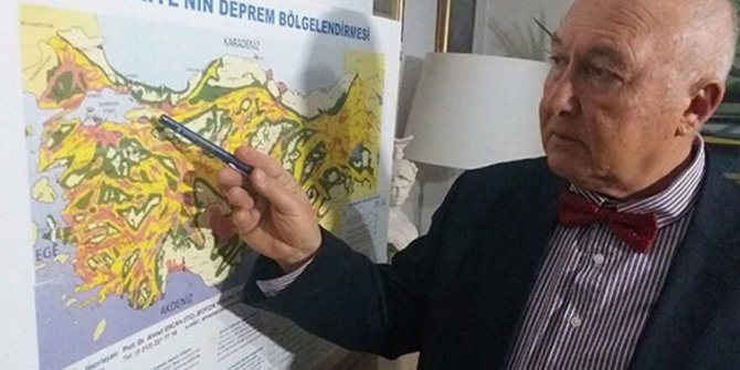 Prof.Dr. Ahmet Ercan İzmir'i vuracak depremin büyüklüğünü açıkladı.Artçısı bile korkunç olacak