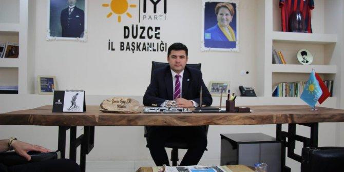İYİParti Düzce İl Başkanı Er'den OSB tepkisi