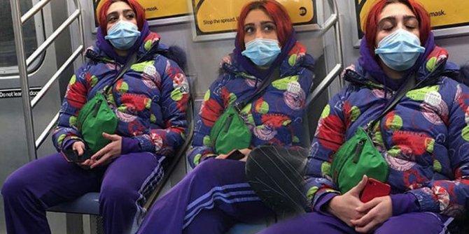 Madonna'nın kızı Lourdes Leon metroda görüntülendi