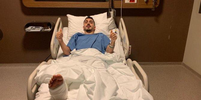 Trabzonspor'da Abdülkadir Ömür ameliyat oldu