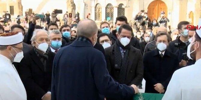 Erdoğan Yavuz Bahadıroğlu'nun cenazesinde konuştu