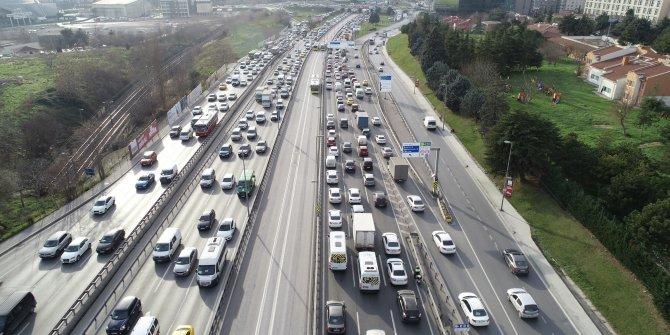 İstanbul'un bugünkü trafik haritası