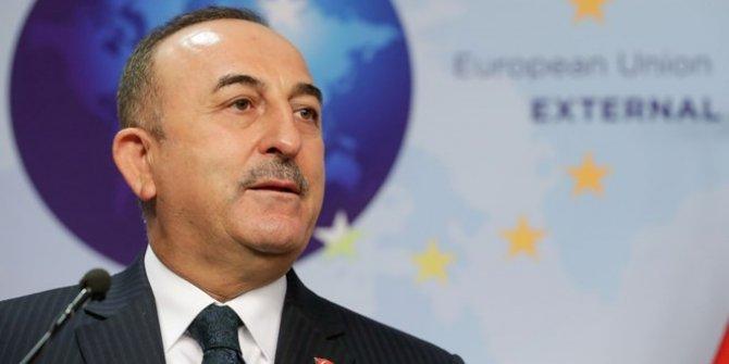 Dışişleri Bakanı Çavuşoğlu Brüksel'de açıklamalarda bulundu