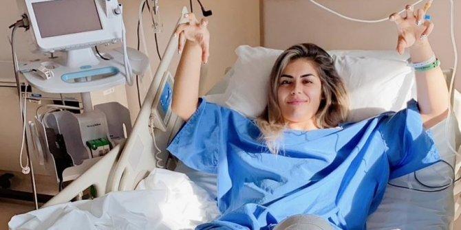 Beşiktaşlı Sevgi Çınar çapraz bağlarından ameliyat oldu
