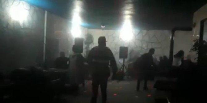 Elazığ'da jandarma restorana baskın yaptı