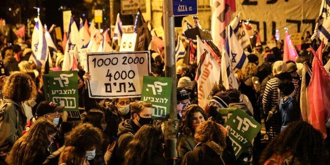 Kudüs'te Netanyahu istifa sesleri