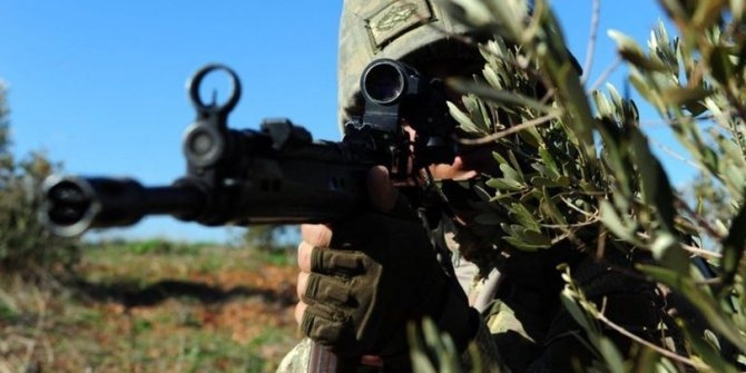 Azez'e taciz ateşinde bulunan 7 terörist öldürüldü