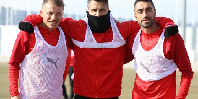 Sivasspor'da Kasımpaşa maçının hazırlıkları tamamlandı