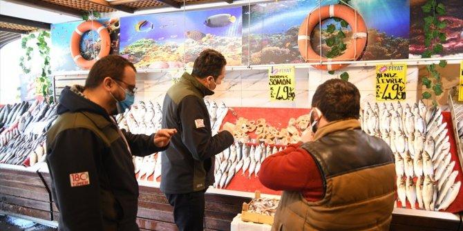 Kayseri'de Turna balığı satan işletmeye ceza
