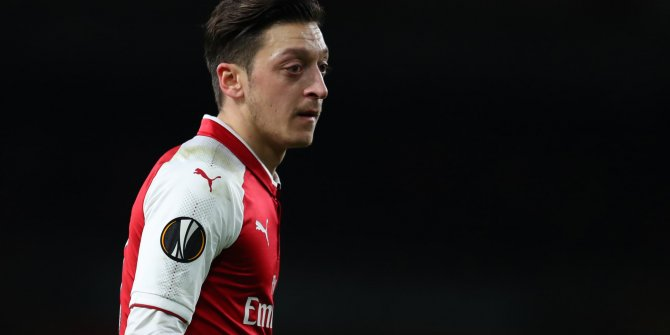 Arsenal'dan Mesut Özil'e veda