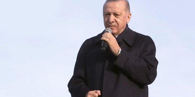 Erdoğan Elazığ'da konuştu