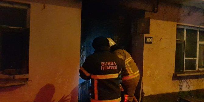 Bursa'da çıkan yangın söndürüldü