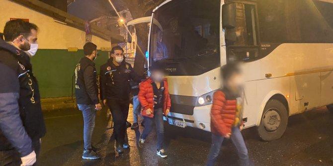 İstanbul'da dilenci çetesine şafak baskını. Çocuklar kurtarıldı