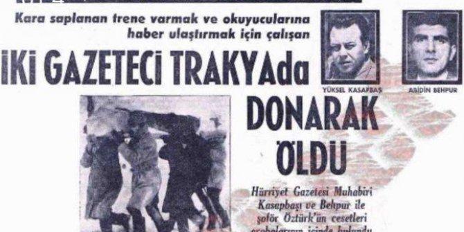 Göreve giden 3 gazetecinin donarak öldüğünü biliyor musunuz. İlk yardıma koşan Ayna Grubu solisti Erhan Güleryüz'ün akrabasıydı