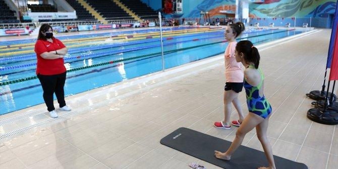 Türkiye'yi Tokyo Paralimpik Oyunları'nda temsil edecek yüzücüler Trabzon'da kampta