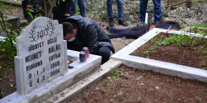 Babasının mezarı başında ölü bulundu
